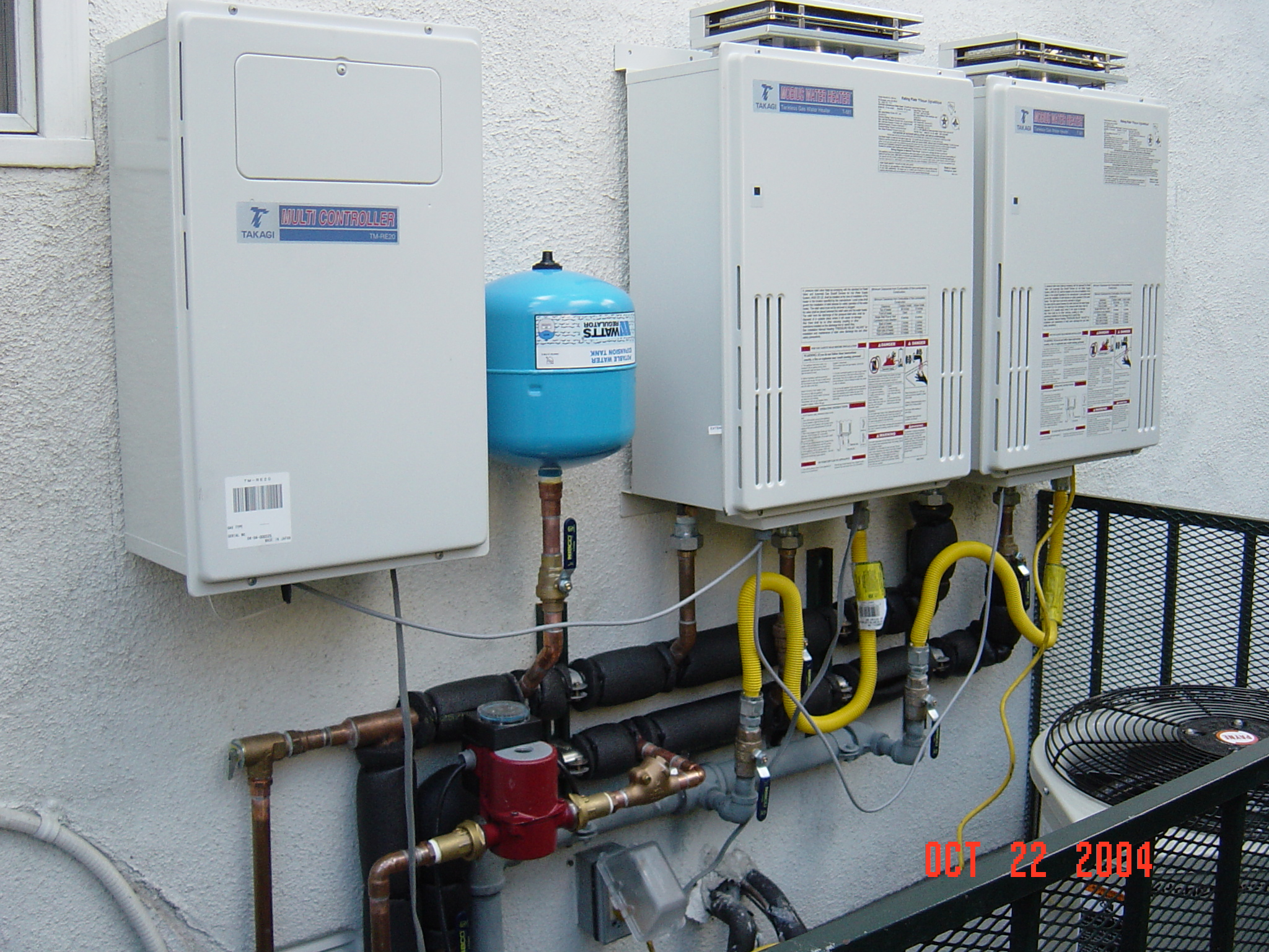 Tankless Water Heater Installation in the San Fernando Valley