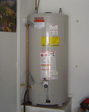 Tank water heater plumber